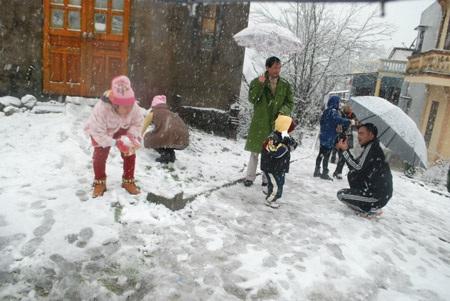 Vùng núi miền Bắc có thể diễn ra 1- 2 đợt tuyết rơi nữa