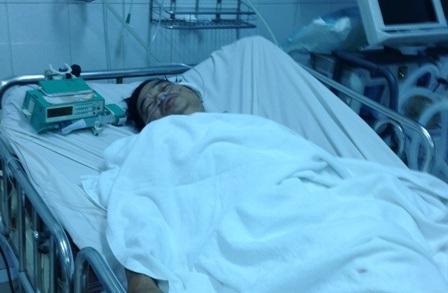Anh Chệt cấp cứu tại Khoa hồi sức tích cực BVND Gia Định