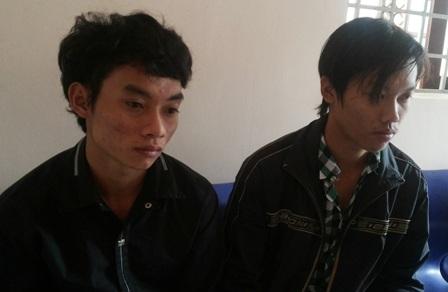 Hai tên đồng phạm lần lượt bị Công an bắt giữ