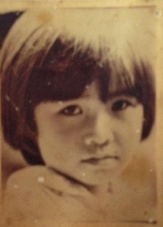 Hình ảnh chị Tâm xinh xắn khi được 8 tuổi.