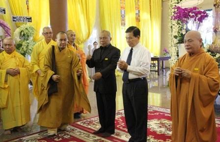 Tổ chức lễ tang cấp cao Đại lão Hòa thượng Thích Trí Tịnh