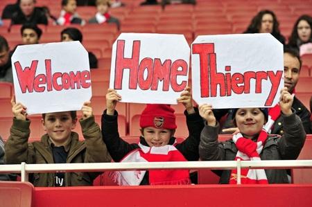 Nhìn lại 40 ngày xúc cảm của Henry ở Arsenal - 4