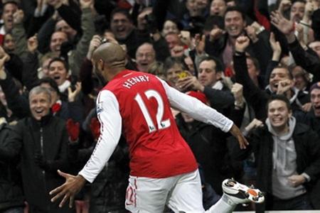 Nhìn lại 40 ngày xúc cảm của Henry ở Arsenal - 6