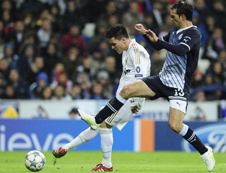 11 cầu thủ xuất sắc nhất lượt 5 vòng bảng Champions League - 2