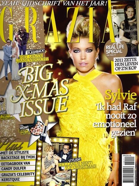 """Bà xã Van der Vaart """"hút hồn"""" trên tạp chí - 1"""