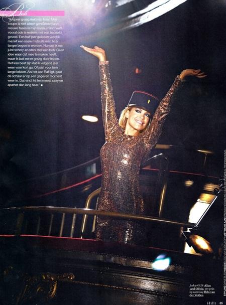 """Bà xã Van der Vaart """"hút hồn"""" trên tạp chí - 8"""