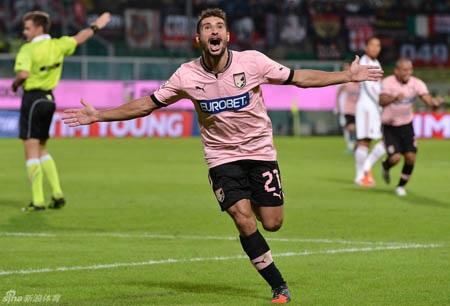 Hiệp 1 là hiệp đấu của Palermo