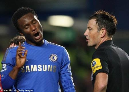 Trọng tài Mark Clattenburg đã bị phía Chelsea đe dọa?