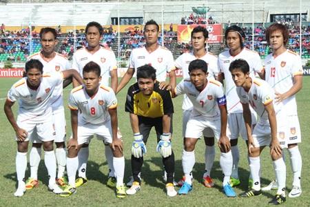 ĐT Myanmar sẽ là đối thủ trong trận ra quân của ĐT Việt Nam ở AFF Suzuki Cup 2012