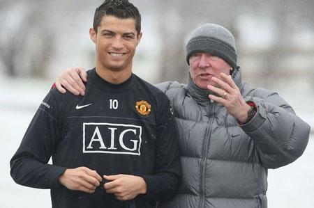 HLV Alex Ferguson và C.Ronaldo luôn dành cho nhau những điều tốt đẹp nhất