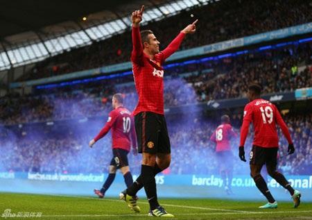 Trận derby thành Manchester đã mang lại quá nhiều cảm xúc cho khán giả