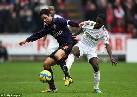 Chấn thương của Mikel Arteta là tổn thất lớn với Arsenal