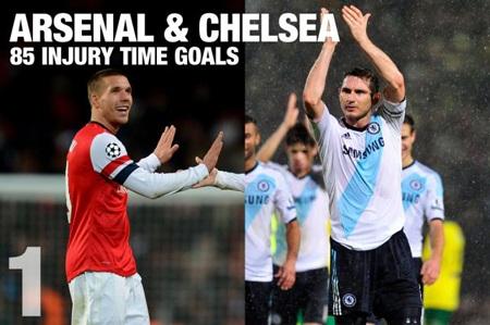 """MU không phải """"ông vua"""" phút bù giờ trong lịch sử Premier League"""