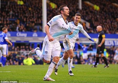 Lampard thi đấu miệt mài cùng Chelsea dù tương lai bất định