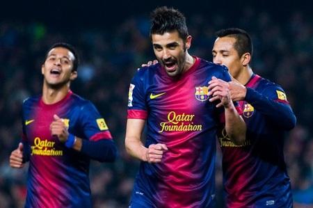 David Villa đang là mục tiêu hàng đầu thay thế Balotelli