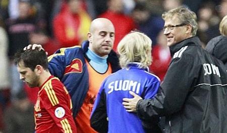 Sự vắng mặt của Jordi Alba và David Silva là tổn thất lớn đối với ĐT Tây Ban Nha