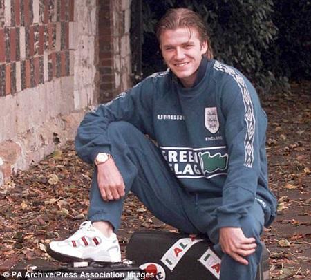 David Beckham thời còn tập luyện ở đội trẻ