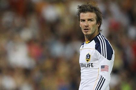 Beckham đã trở về với tóc dài lãng tử khi trở lại LA Galaxy