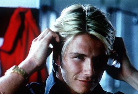 """Ngay từ trẻ, Beckham đã trở thành """"gương mặt"""" đắt khách trong giới quảng cáo"""
