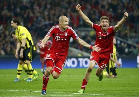"""Bayern Munich có hàng tấn công """"khủng"""" nhất giải đấu năm nay"""