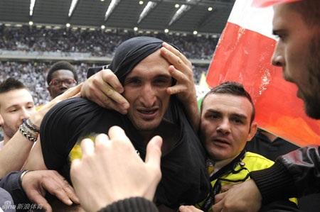 Những người hùng của Juventus mùa này, xuất hiện trên những khán đài