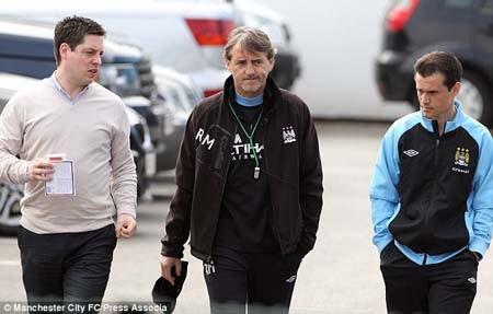 Mancini vẫn tự tin về tương lai ở Man City
