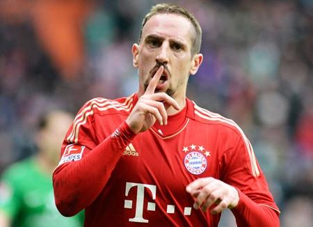 Ribery sẽ gắn bó với Bayern Munich tới năm 34 tuổi