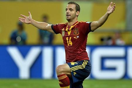"""Nhiều khả năng, Soldado sẽ được lựa chọn trong vai trò """"số 9"""" của đội tuyển"""