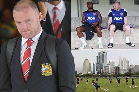 Rooney có thể ra đi sau khi không được đảm bảo sẽ được đá ở vị trí tiền đạo