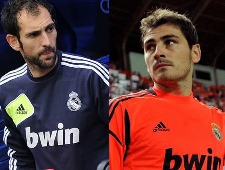 Diego Lopez và Casillas sẽ phải cạnh tranh vị trí chính thức ở Real