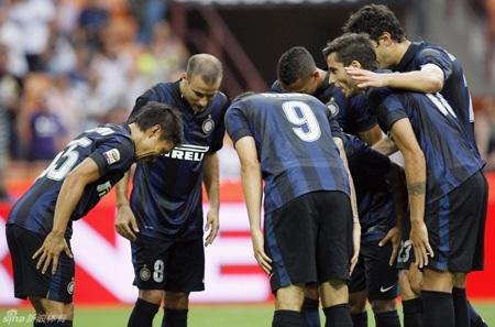 Chiến thắng này đã tạo đà tâm lý tốt cho Inter trong cuộc chiến ở Serie A