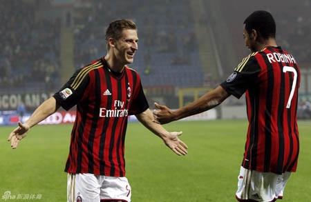 Birsa ghi bàn thắng duy nhất cho AC Milan