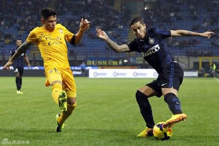 """Inter dễ dàng hạ gục """"hiện tượng"""" Hellas Verona"""