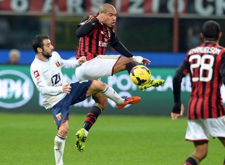 AC Milan bất ngờ bị Genoa cầm chân trên sân nhà