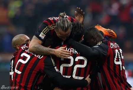 AC Milan đã xuất sắc có được chiến thắng trước Atalanta