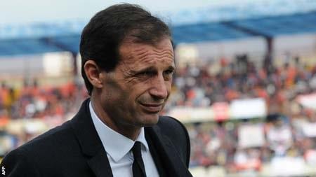 Allegri đã phải rời khỏi AC Milan sau chuỗi thành tích thất vọng trong mùa giải này