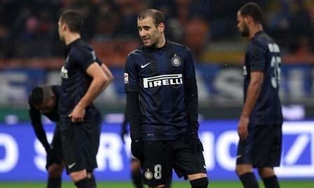 Inter tiếp tục gây thất vọng với trận hòa trước Chievo