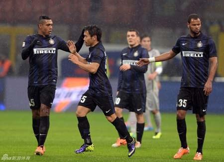 Những chân sút của Inter tỏ ra quá vô duyên