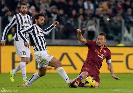 Với trận thua này, AS Roma gần như không còn cơ hội cạnh tranh với Juve