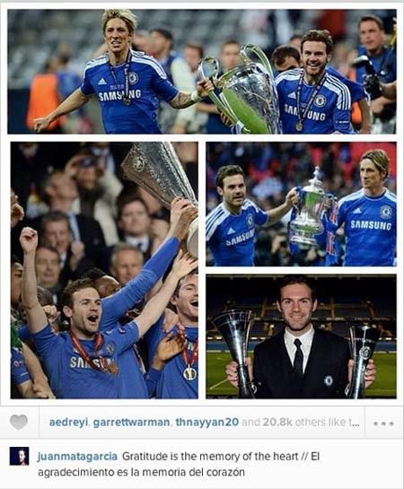 Những khoảnh khắc đẹp nhất của Mata ở Chelsea