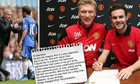 Mata cho rằng đây là thời điểm thích hợp để anh rời Chelsea