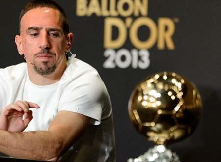Ribery vẫn cảm thấy tiếc nuối vì hụt mất danh hiệu Quả bóng vàng