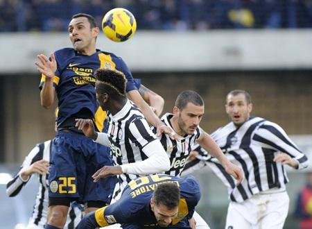 Dù dẫn trước tới 2-0 nhưng Juventus vẫn bị lội ngược dòng