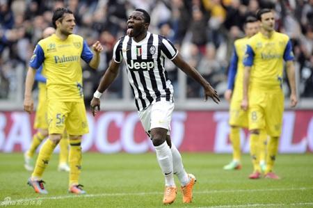 Juventus dễ dàng hạ gục Chievo