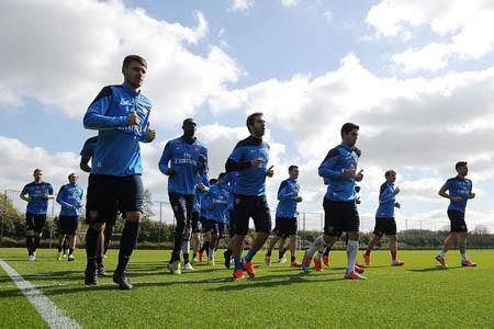 Arsenal phải đối diện với bài toán lực lượng trước trận đấu với West Ham