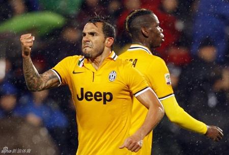 Juventus dễ dàng vượt qua Sassuolo để tiến gần tới chức vô địch Serie A
