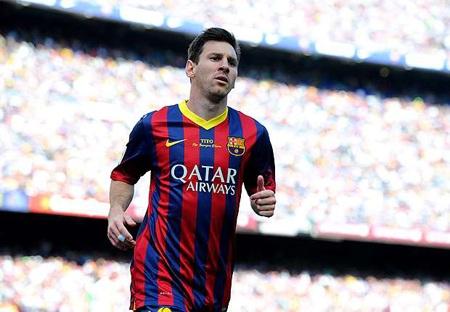 Messi trở thành cầu thủ lương cao nhất thế giới