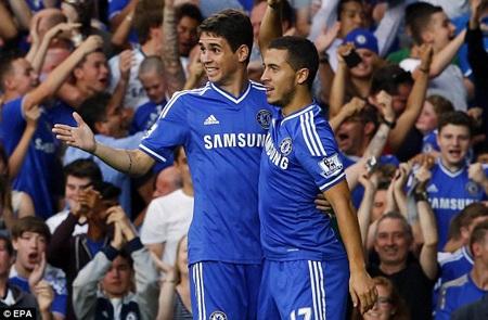 Sau David Luiz, PSG muốn cả Hazard và Oscar