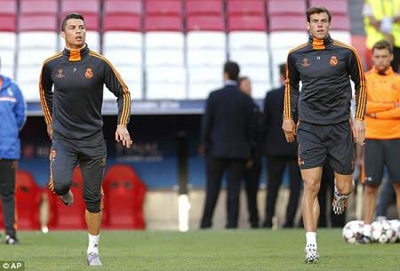 Bộ đôi họng pháo của Real, Ronaldo và Bale