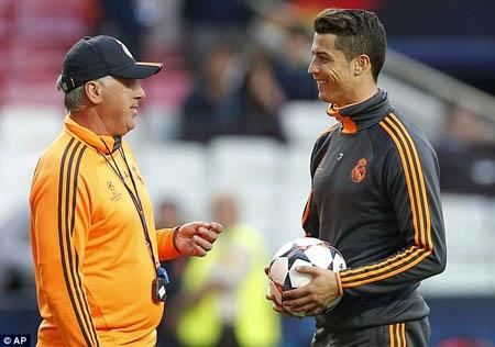 Bầu không khí ở Real Madrid trước trận chung kết vô cùng thoải mái